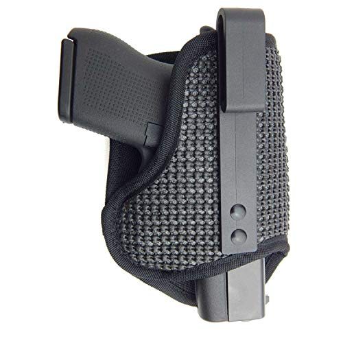 Active Pro Gear IWB Push Draw Belt Clip Concealment Holster for Gun Concealed Carry | Inside Waistband Conceal Carry Belt Holsters | Made in USA (M Size, Right)