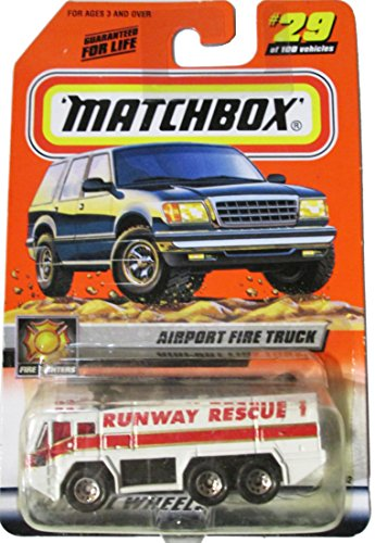 Matchbox Airport Fire Truck - Runway Rescue 1 - #29