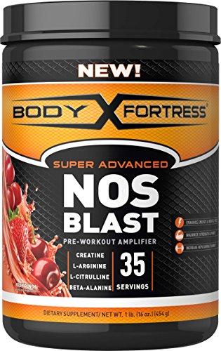 Body Fortress NOS Blast Pre Workout Amplifier