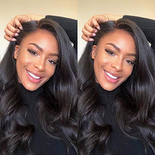 Gabrielle Weave Hair (14' 16' 18') Body Wave Hair Brazilian 3 Bundles 100% Unprocessed Brazilian Virgin Human Hair Weave Hair Bundles Natural Color Brazilian Hair