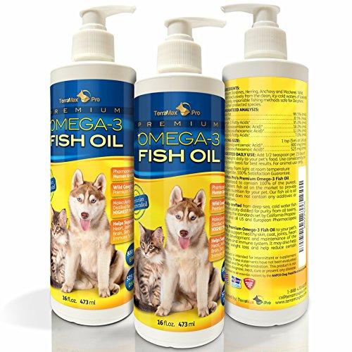 TerraMax Pro Liquid Omega-3 Fish Oil for Dogs and Cats, 32 Fl. Oz.