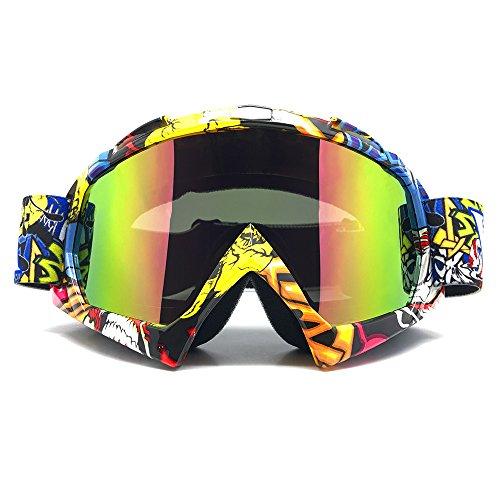 ZDATT Motocross Goggles Adult Dirtbike ATV Motorcycle Gafas UV Protection Motorbike Ski Snowboard Goggles