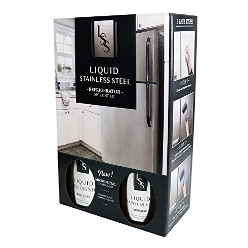 Liquid Stainless Fridge Kit, Stainless Steel
