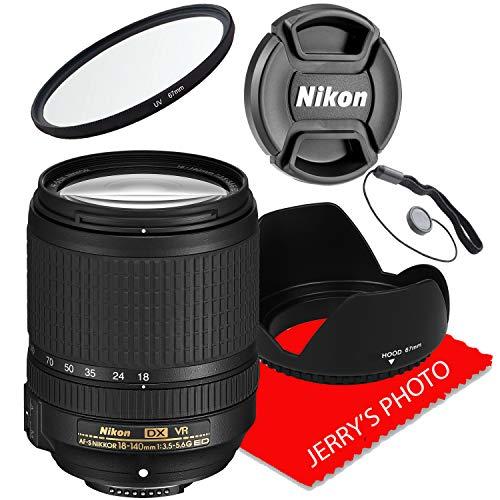 Nikon AF-S DX NIKKOR 18-140mm f/3.5-5.6G ED VR Lens (White Box)