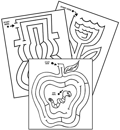 Therapro Raised Line Seasonal Mazes