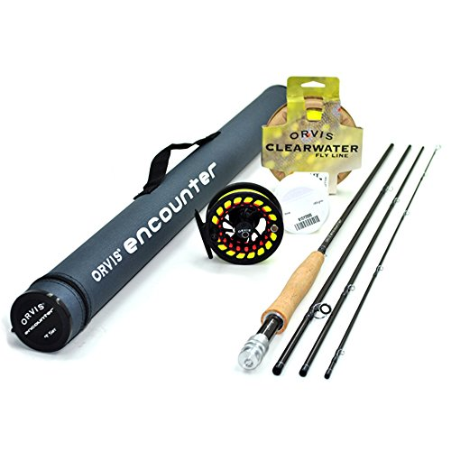 Orvis Encounter 5-Weight 8'6' Fly Rod Outfit (5wt, 8'6', 4pc)