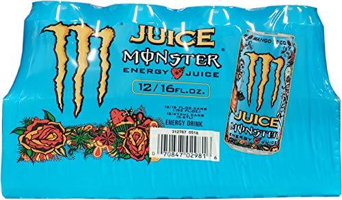 Monster Mango Loco Energy Juice Cans, 192 Fluid Ounce