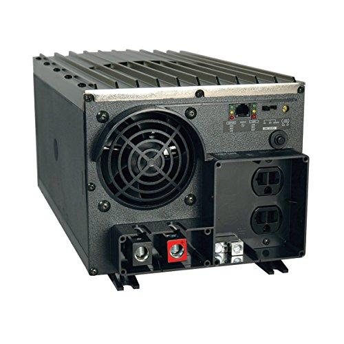 Tripp Lite Power Industrial Inverter, 1250W, 12VDC, 120V, RJ45, 5-15R, 2-Outlets  for RVs, Trucks, Fleet Vehicles & Emergency Vehicles (PV1250FC)