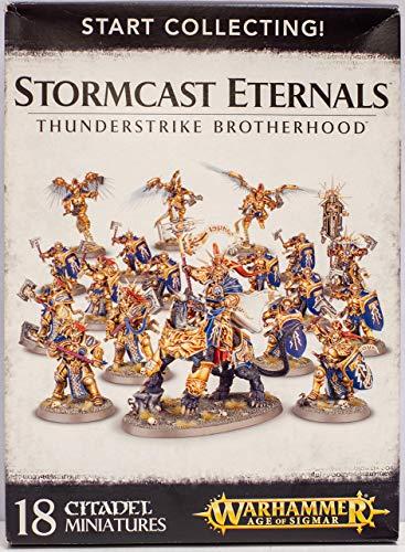 Warhammer: Age of Sigmar Start Collecting! Stormcast Eternals Thunderstrike Brotherhood