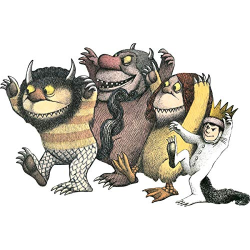 Paper House Productions PUZ-4001E Floor Puzzle, Where the Wild Things Are