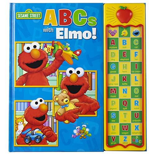 Sesame Street - ABCs with Elmo! 30 Button Sound Book - PI Kids