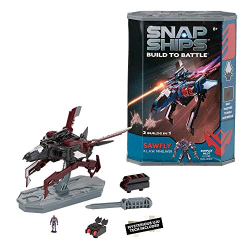 PlayMonster Snap Ships Sawfly K.L.A.W. Minelayer