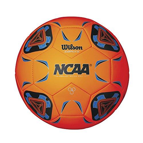 Wilson NCAA Copia II Soccer Ball, Orange - Size 4