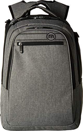 TravisMathew The Go Backpack Heather Grey One Size