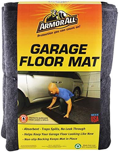 Armor All AAGFMC17 Charcoal 17' x 7'4' Garage Floor Mat (Renewed)