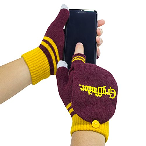 Harry Potter Gloves - Fingerless Mitten Gloves - Cinereplicas - Official Harry Potter License
