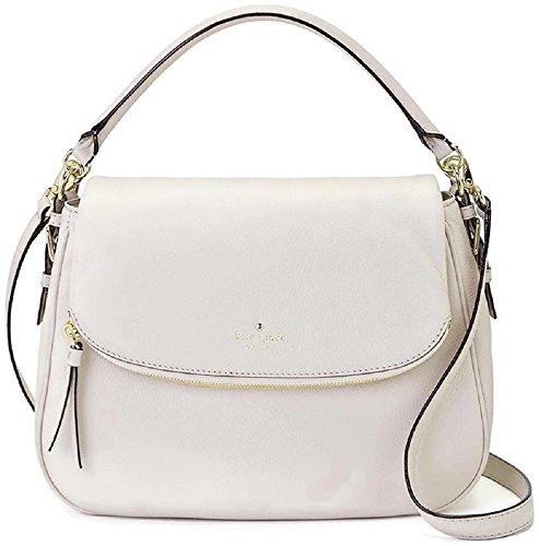 Kate Spade Cobble Hill Devin Leather Handbag Crossbody Bag, Pebble