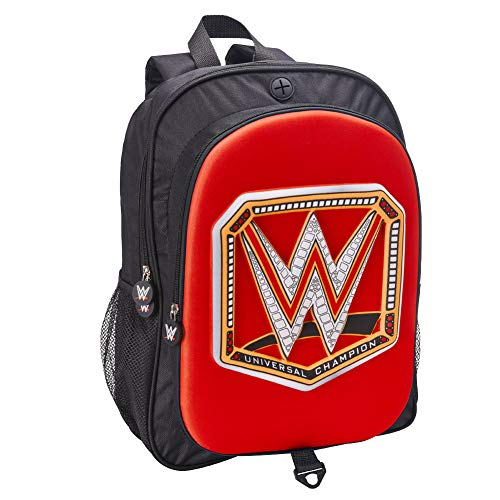 WWE Authentic Wear Universal Championship 3-D Molded Backpack