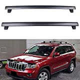 ECCPP Roof Rack Crossbars fit for Jeep Grand Cherokee 2011 2012 2013 2014 2015 2016 2017 2018 2019 Aluminum Bars (Only Fits with OEM Roof Rails)