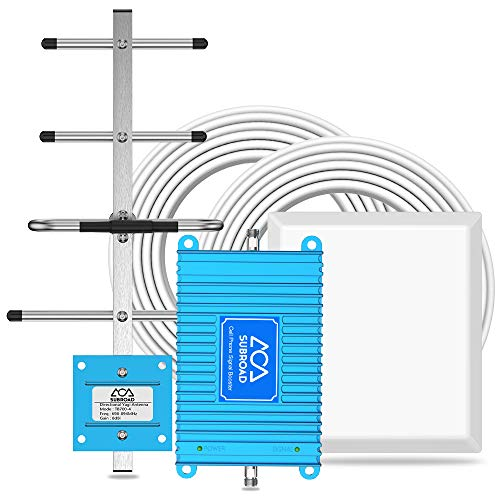 Verizon Cell Phone Signal Booster 4G LTE Verizon Signal Boosters 700Mhz Band 13 Mobile Cellular Amplifier Repeater Kits for Home and Office Verizon Cell Phone Booster Extend Coverage Up to 4,000Sq Ft