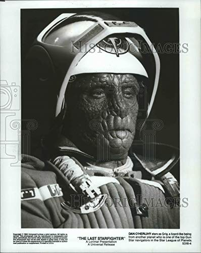 Historic Images - 1984 Press Photo Dan O'Herlihy Lizard-Like in The Last Starfighter