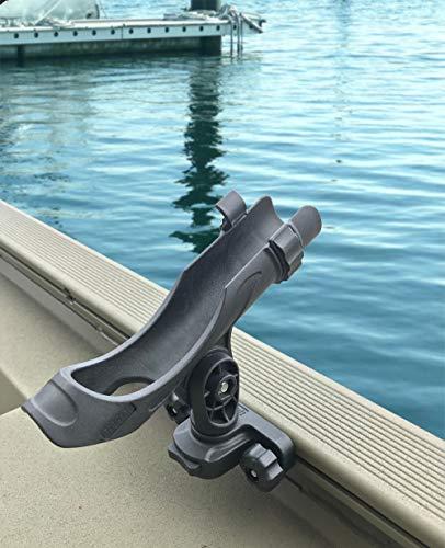 Brocraft Versatrack Track System Rod Holder/Versatrack Boat Rod Holder/Versatrack Boat Accessories