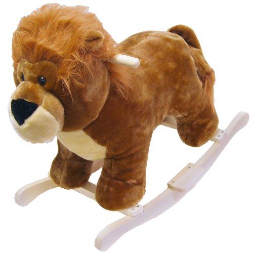 Happy Trails Lion Plush Rocking Animal