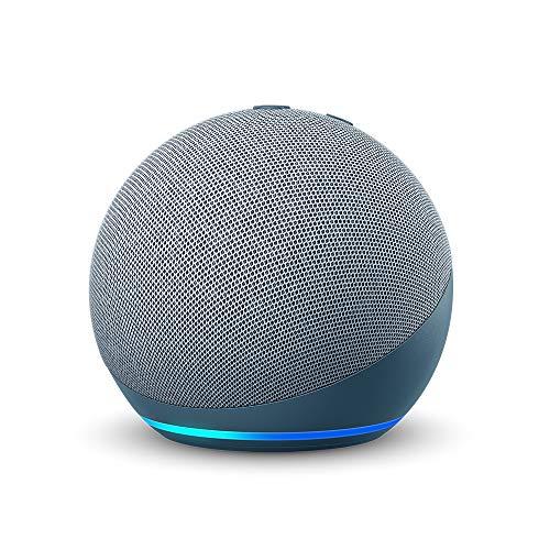 Certified Refurbished Echo Dot (4th Gen) | Smart speaker with Alexa | Twilight Blue