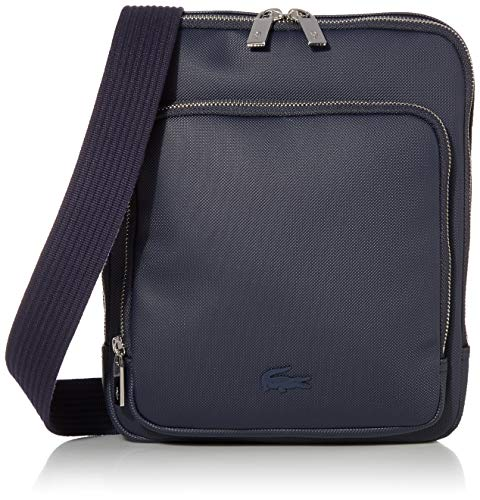 Lacoste Mens Classic Crossover Bag, Navy Blue