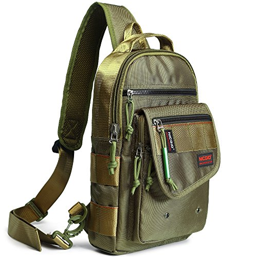 Sling Bags, Chest Shoulder Backpacks Crossbody Purse Outdoor Chest Bag Travel Backpack for Men Women Hiking Camping Cycling