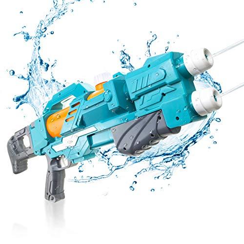 KMV Water Gun for Kids & Adults, 22.8' Long Super Strong Squirt Gun Water Soaker Blaster 600CC, Water Toys for Summer Swimming Pool, Beach, Outdoor Water Battle