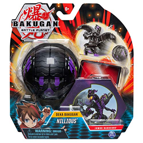 Bakugan Deka, Nillious, Jumbo Collectible Transforming Figure, for Ages 6 & Up, Multicolor, Model:20113263