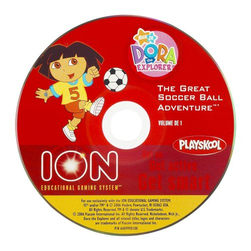 Ion Educational Gaming System Active Learning Disc: Dora the Explorer - The Great Soccer Ball Adventure
