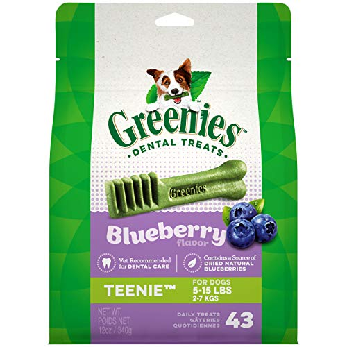 GREENIES Blueberry Natural Dental Dog Treats, 12oz Pack