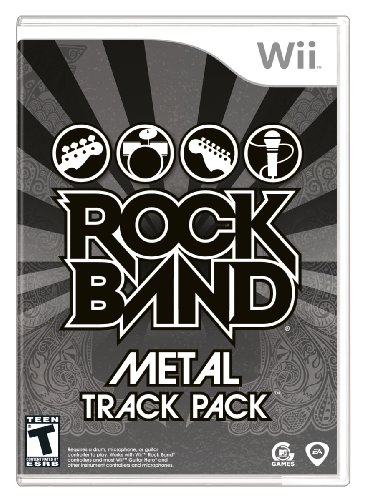 Rock Band: Metal Track Pack - Nintendo Wii