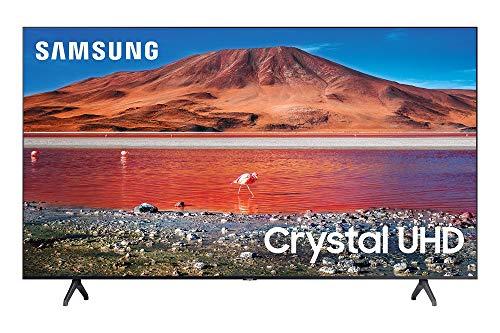Samsung 55-inch TU-7000 Series Class Smart TV | Crystal UHD - 4K HDR - with Alexa Built-in | UN55TU7000FXZA, 2020 Model