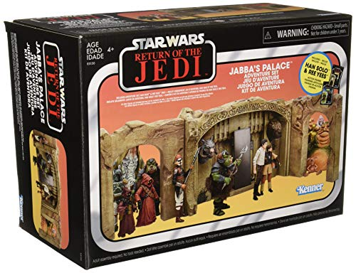 Star Wars Exclusive The Vintage Collection: Episode VI Return of The Jedi Jabba's Palace Adventure Set Playset
