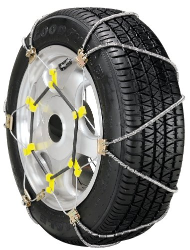 Security Chain Company SZ343 Shur Grip Super Z Passenger Car Tire Traction Chain - Set of 2
