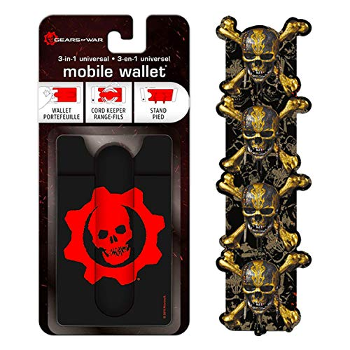 Video Game Merchandise Gears of War Mobile Wallet - Video Game Gifts for Men Women Gears of War Accessories