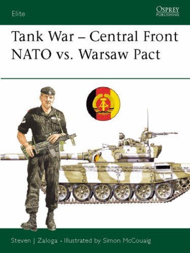 Tank Combat Central Front: N. A. T. O. Versus Warsaw Pact (Elite) by Steven J. Zaloga (28-Sep-1989) Paperback