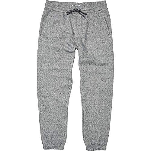 Billabong Men's Hudson Fleece Pant, Grey Heather, L