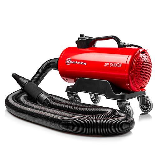 Adam's Air Cannon Car Dryer Blower - Powerful Car Detailing Car Wash Dryer | Filtered Car Air Dryers, Blowers & Blades | Safer Than Microfiber Towel Cloth
