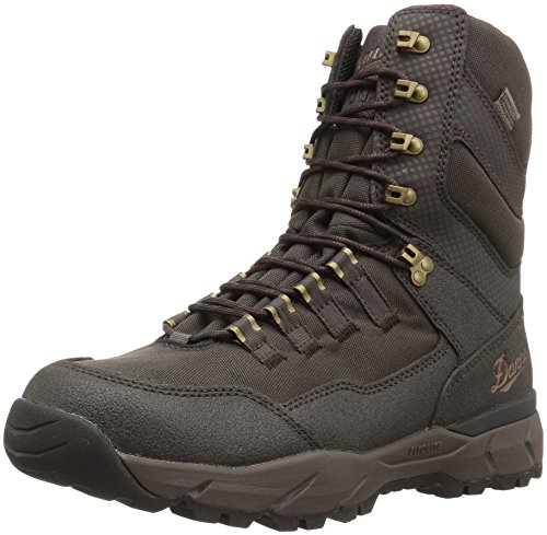 Danner Men's Vital Insulated 400G Hunting Shoes, Brown, 10 D US