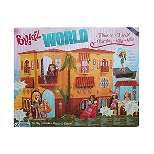 Bratz World Mansion Dollhouse Huge Playset