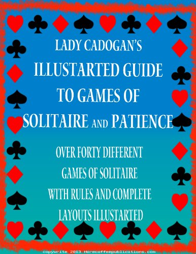 Illustrated Card Games of Patience and Solitaire | Card Games | Playing Cards