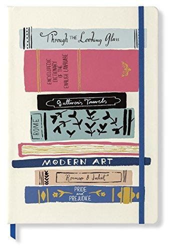 Kate Spade New York Take Note XL Vegan Leather Notebook, Bound Journal Includes 168 Pages, Stack of Classics