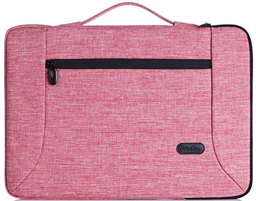 ProCase 14-15.6 Inch Laptop Sleeve Case Cover Bag for 2019 MacBook Pro 16' A2141, Most 14 15 Inch Laptop Ultrabook Notebook Chromebook Dell Toshiba HP ASUS Acer -Pink