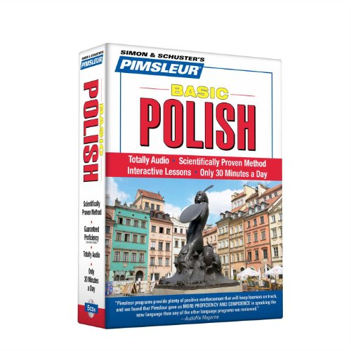 Pimsleur Polish Basic Course - Level 1 Lessons 1-10 CD: Learn to Speak and Understand Polish with Pimsleur Language Programs (1)