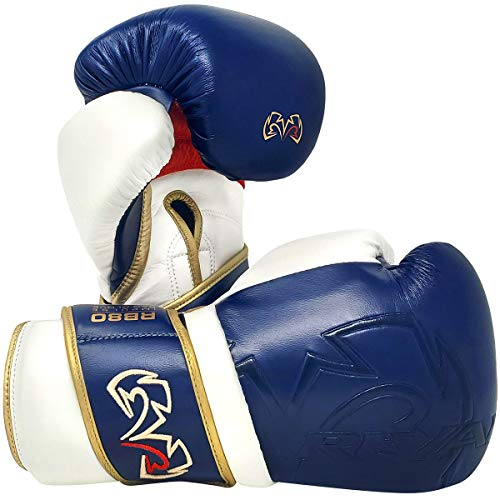RIVAL Boxing RB80 Impulse Bag Gloves - Medium - Navy