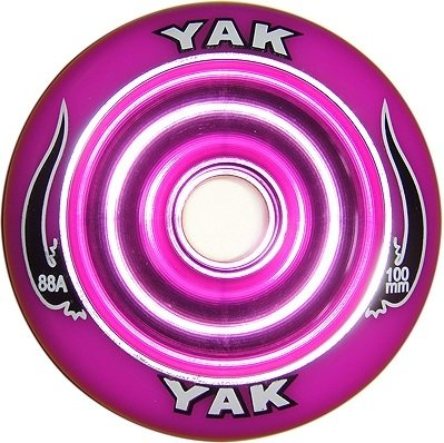 Yak Scooter Wheel Scat II Full Metal Core Purple 100mm